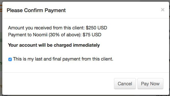How to Submit Commission Payments | Noomii